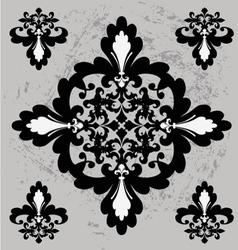vintage mosaic texture design vector image