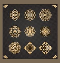 Design elements graphic thai design isolated vector