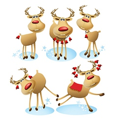 Cartoon reindeer vector