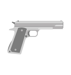 Weapon series vintage wild west army handgun vector