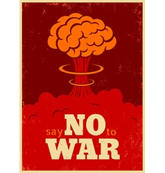 No war red vector
