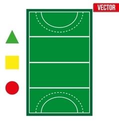 Set of most popular sample sport fields vector