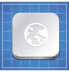 app icon template vector image