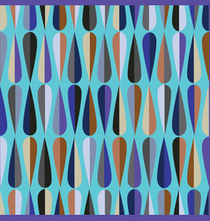 Drops seamless pattern vector