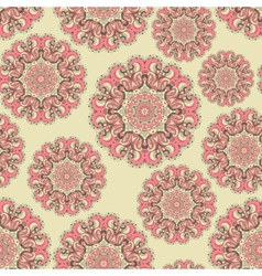 Beautiful seamless lace background vector image