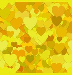 Seamless heart pattern background - design vector