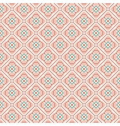 Brown pattern vector image vector image