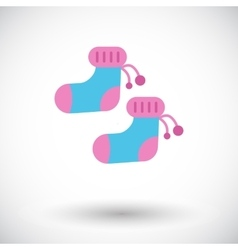 Children socks vector image vector image