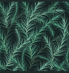 fir background seamless vector image vector image