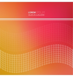 Modern abstract background with a dynamic pattern vector image vector image