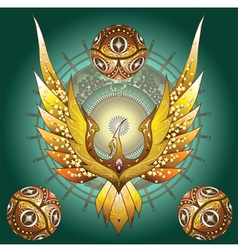 Phoenix 4 vector image