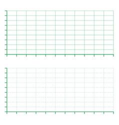 ratings line graph line chart graph paper printa vector image