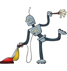 Robot cleaner vector