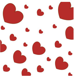 Hearts wallpaper symbol love vector