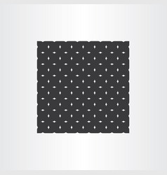 Abstract black pattern geometric background vector
