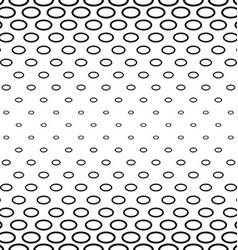 Black and white ellipse ring pattern vector