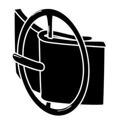 podium fashion belt icon simple style vector image