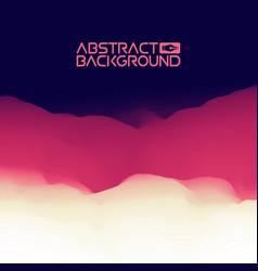 3d landscape background purple gradient abstract vector image