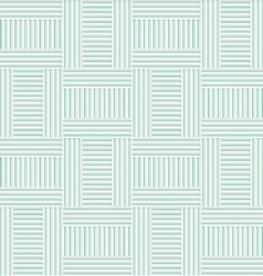 White 3d with colors green striped t shapes vector