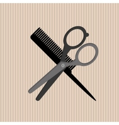 Hair salon design vector image