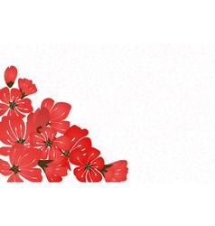 abstract floral sakura flower japanese natural vector image vector image