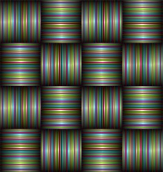 candy stripe weave vector image