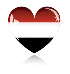 Egypt flag vector image vector image
