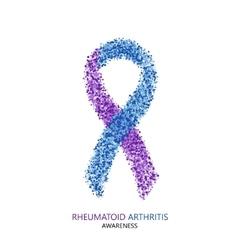 modern rheumatoid arthritis awareness vector image