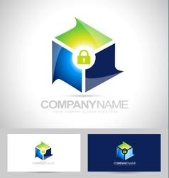 Secure security design vector