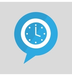 Sign clock time watch design graphic vector