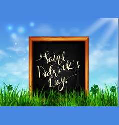 St patrick s day background vector