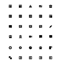 Mini icons 27 vector