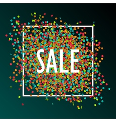 Celebration sale vector