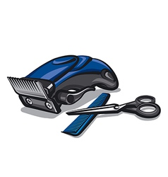 hairclipper vector image vector image