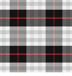 seamless pattern Scottish tartan 2 vector image vector image