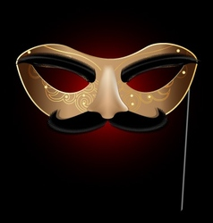 halfmask with nose vector image
