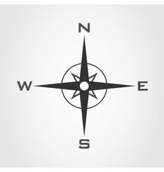 Compass world vector