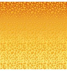 Beer bubbles background vector