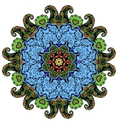 Hand-drawn mandala vector image