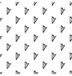 Harp pattern simple style vector