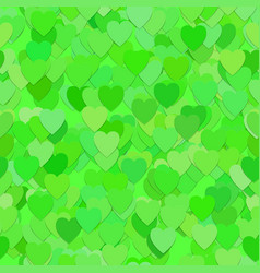 Seamless heart pattern background - design vector