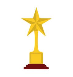 trophy icon image vector image vector image
