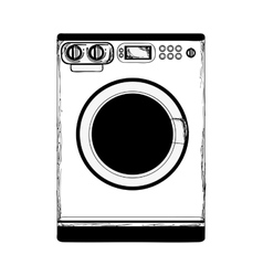 Washing machine icon image vector