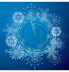 abstract background with clock vector image vector image