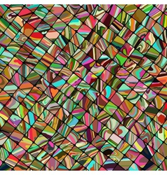 Abstract mosaic background EPS 8 vector image vector image