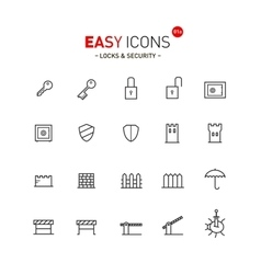 Easy icons 01a security vector