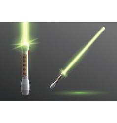 Lightsaber vector image