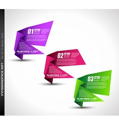 Clean infographic layout template for data and vector