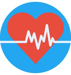 Cardio heart vector