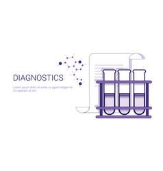 Diagnostics medical treatment business concept vector